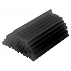 Batoane de silicon 7.2x200mm 8 buc. negru