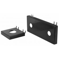 Suport Baterie Expozitor Metalic ETS / Tip: Dublu