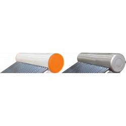 Vas Acumulare Sistem Panou Solar cu Tuburi Vidate SP-470 / C: 673686; T: Inox; V[l]: 122; Tuburi: 15; D[mm]: 58; L[mm]: 1800 Tip C