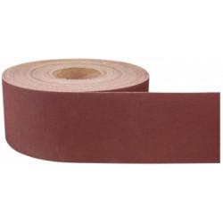 Smirghel pe Suport Textil JA ETS / L[m]: 50; B[mm]: 100; G[#]: 80