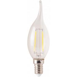 Bec Led Filament Tip Lumanare / Tip: C37; E: 14; P[W]: 2; C: 6500K