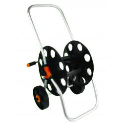 Derulator tambur pentru furtun cadru metalic si roti 45m TG