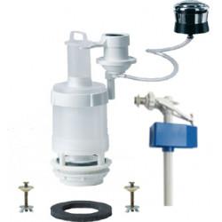 Mecanism WC Pneumatic cu Robinet Flotor si Intrare Laterala / D[inch]: 3/8