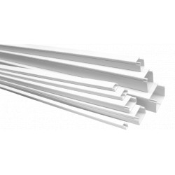 Canal Cablu PVC cu Adeziv ETS / B[mm]: 12; H[mm]: 12