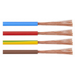 Cablu Electric MYF / S[mmp]: 1.5; C: albastru