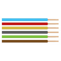Conductor Electric FY / S[mmp]: 2.5; C: negru