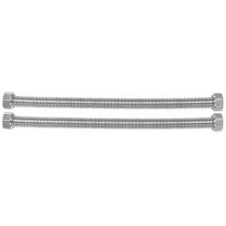 Racord Flexibil Inox Corugat pt Apa Interior-Interior / D[inch]: 1/2; L[cm]: 80