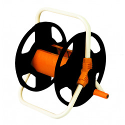 Derulator tambur pentru furtun cadru metalic 45m TG