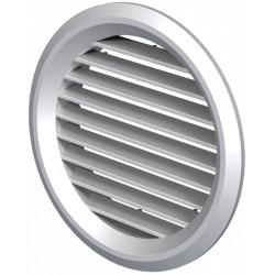 Grila de Ventilatie Rotunda cu Plasa 1111 / Cod: MV80bVs; D[mm]: 80