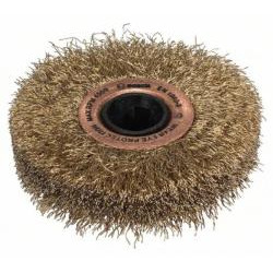 Perie (alămită) 18 mm, - Bosch