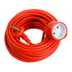 Prelungitor simplu portocaliu 20m 2x1mm2 (48)