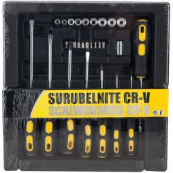 Surubelnite Cr-V (28 buc/set).