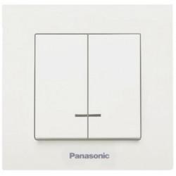 Intrerupator ST Dublu cu Led Panasonic / Cod: 50; I[A]: 10