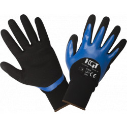Manusi Poliester Acoperire 3/4 Nitril Soft Touch / M: 10
