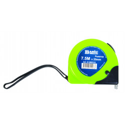 Ruleta carcasa ABS dublu-stop 5.0m x25mm BS