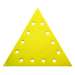 Set 5 bucati smirghel VELCRO triunghiular 285mm grit 120