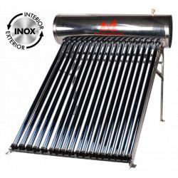 Sistem Panou Solar Presurizat cu Tuburi Heat Pipe SPP-470-H58/1800-18 C INOX / V[l]: 150; T[buc]: 18; D[mm]: 58; L[mm]: 1800