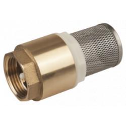 Sorb cu Supapa si Filtru Inox 1102 / D[inch]: 1 1/4