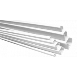 Canal Cablu PVC cu Adeziv ETS / B[mm]: 25; H[mm]: 25