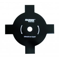 Lama metalica Ø255x25.4 mm cu 4 dinti pentru motocoasa