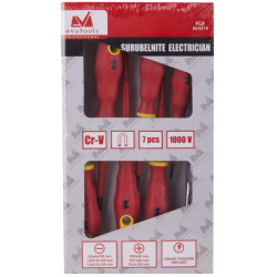 Surubelnite Electrician 1kV 7 Pcs.