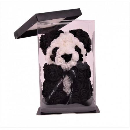 cadou-Ursulet-panda-din-trandafiri