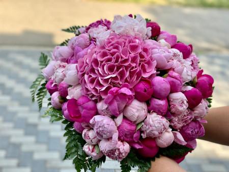 buchet-de-bujori-roz-mare-craiova