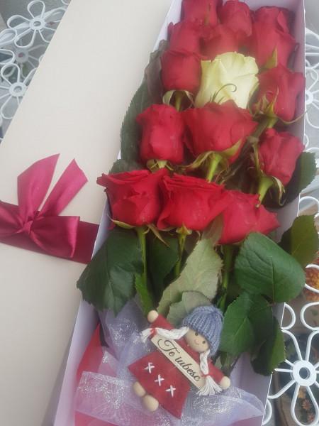 17-trandafiri-rosii-in-cutie