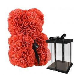 Ursulet din trandafiri 25 cm