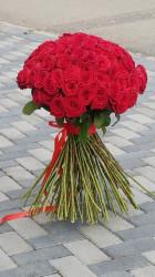 Buchet 99 de trandafiri