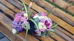 Aranjament Amfora cu orhidee
