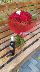 Buchet 31 de trandafiri rosii