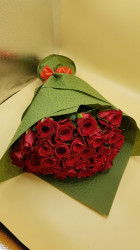Buchet 35 de trandafiri rosii
