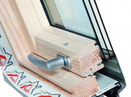 Designo R45 RotoTronic E lemn WD
