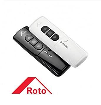 Designo R45 RotoTronic E PVC WD
