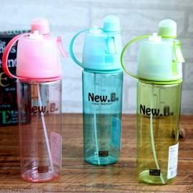 Sticla spray pentru sport 600 ml New B. - ROZ
