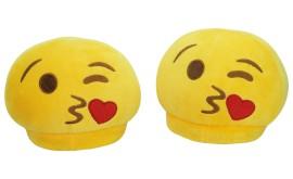 Papuci Emoji - Heart kiss - copii