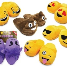 Papuci Emoji - Heart eyes - copii