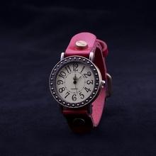 Ceas Diva Vintage - ROSU