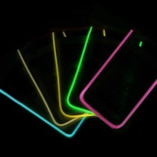 Husa Subacvatica pentru telefon - fosforescenta - GALBEN NEON