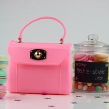 Geanta din silicon Lady - roz deschis
