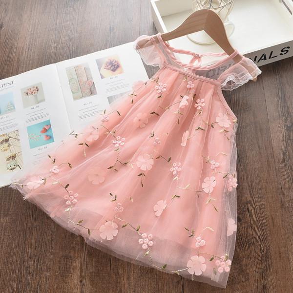 Rochie cu detalii Pink