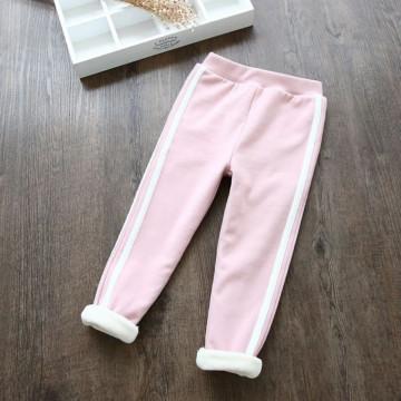 Pantaloni dublati Lurca Roz