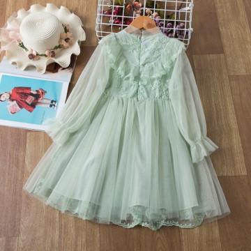 Rochie cu detalii Laumia Verde