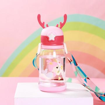 Sticla de apa -roz