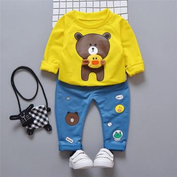 Set bluza si pantaloni Bear Galben