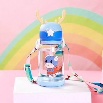 Sticla de apa -albastru