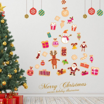 Sticker decorativ Christmas Gifts
