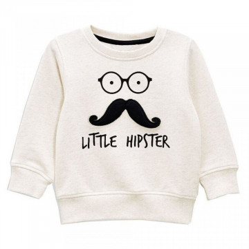 Bluza de molton Little Hipster