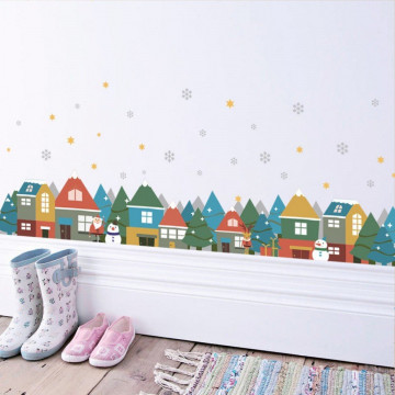 Sticker decorativ Frosty